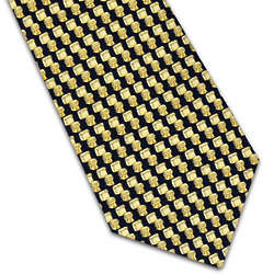 Toilets Pattern Tie
