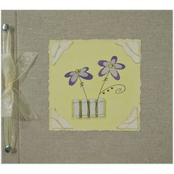 Flowers Handmade 5 Year Baby Memory Book
