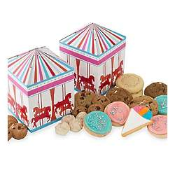 Carousel Tent Treat Gift Box with Taffy