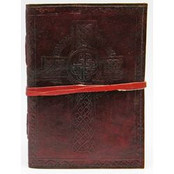 The Borgias Celtic Cross Leather Cord Journal