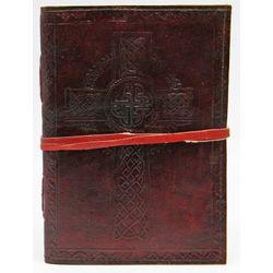 The Borgias Celtic Cross Leather Cord Journal