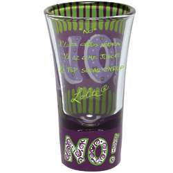 No Party Shot Glass