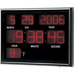 Scoreboard Digital System Clock