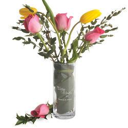 Personalized In Loving Memory Vase