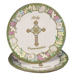 First Communion Paper Plates