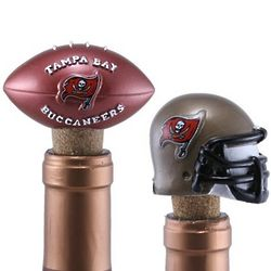 Tampa Bay Buccaneers Two Pack Bottle Cork Set