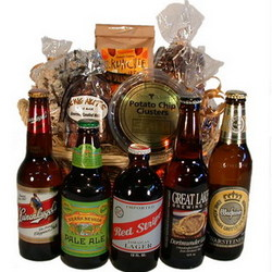 Microbrew Beer Gift Basket