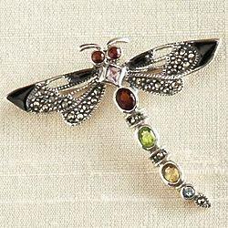Thai Dragonfly Brooch