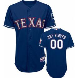 Texas Rangers 2010 Alternate Royal Blue On-Field Jersey
