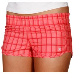 Supersuede Beachrider Juniors Plaid Boardshort