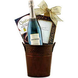 Let's Toast To Love Champagne Gift Basket