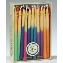 Hand-Dipped Eco-Friendly Beeswax Hanukkah Candles