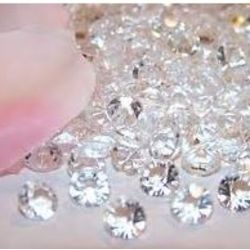 50 Small Incredible Edible Sugar Diamonds