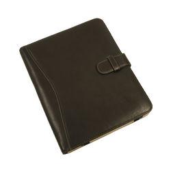 Chocolate Piel Leather iPad Case