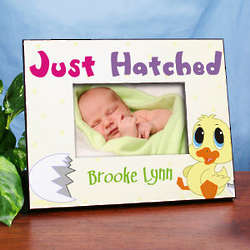 Just Hatched Personalized Easter Picture Frame