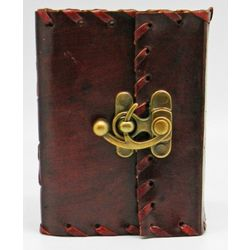 The Borgias Leather Lock Journal