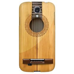 Acoustic Guitar Hard Back Case for Samsung Galaxy S4