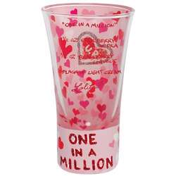 One in a Million Party Shot Glass