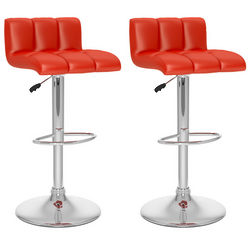 CorLiving Low Back Adjustable Bar Stools