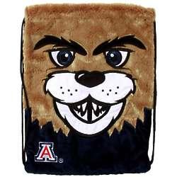 Arizona Wildcats Plush Mascot Backsack