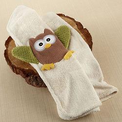 My Little Night Owl Plush Velour Baby Blanket