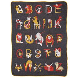 Animal Alphabet Baby Blanket
