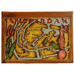 Map of Amsterdam Leather Photo Album