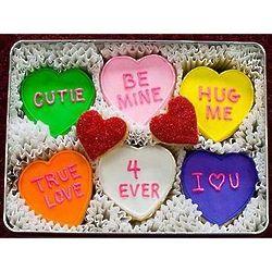 Be Mine Valentine Cookie Gift Tin