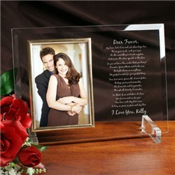 A Perfect Match Personalized Gift Frame