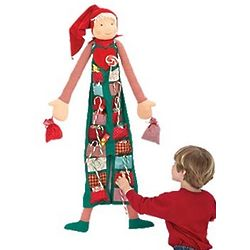Boy Advent Elf