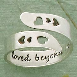 You Are Loved Beyond Measure Ring