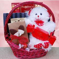 Bear Hugs Gift Basket