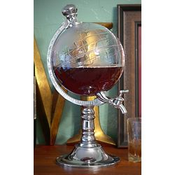 World Globe Liquor Dispenser