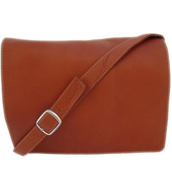 Saddle Leather Small Purse with Organizer