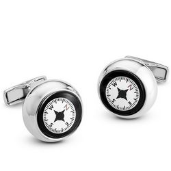 Sterling Compass Cuff Links