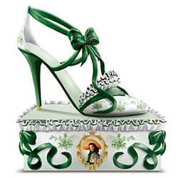 Southern Belle Style Gone with the Wind Shoe Figurine