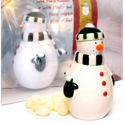 Snowman Pooper Candy Dispenser