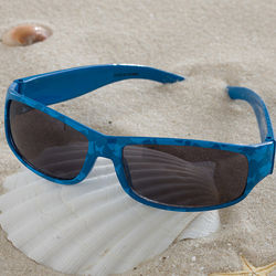 Boy's Shark Blue Sunglasses