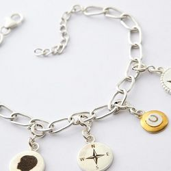 Artisan Graphic Charm Bracelet Chain