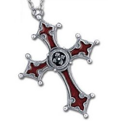 The Borgias Noctis Cross Necklace