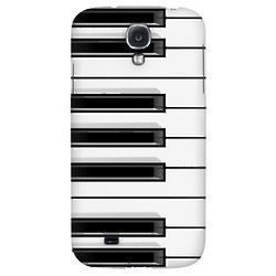 Piano Keys Hard Back Case for Samsung Galaxy S4