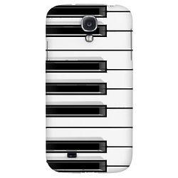 Piano Keys Hard Back Case for Samsung Galaxy S4