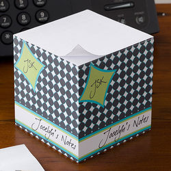Fancy Notes Personalized Paper Note Cube