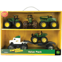"John Deere 5"" Monster Treads Toy Value Set"