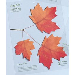 Maple Leaf-It Sticky Notes