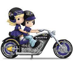 Gearing Up for a Season Baltimore Ravens Figurine