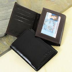Oxford Tri-fold Leather Wallet