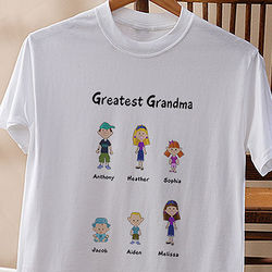 Personalized Character Collection White T-Shirt