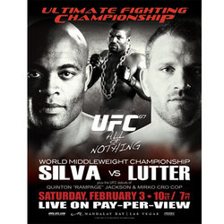 UFC 67 Autographed Poster