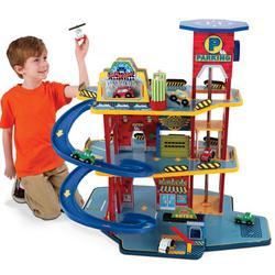 Deluxe Toy Garage Set